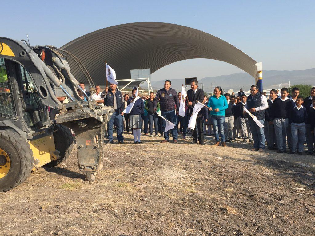 Municipio de quer taro inicia la construcci n de comedor for Proyecto de construccion de comedor escolar