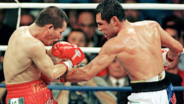 5a8ddabf216d Guerras Aztecas Chávez vs De la Hoya
