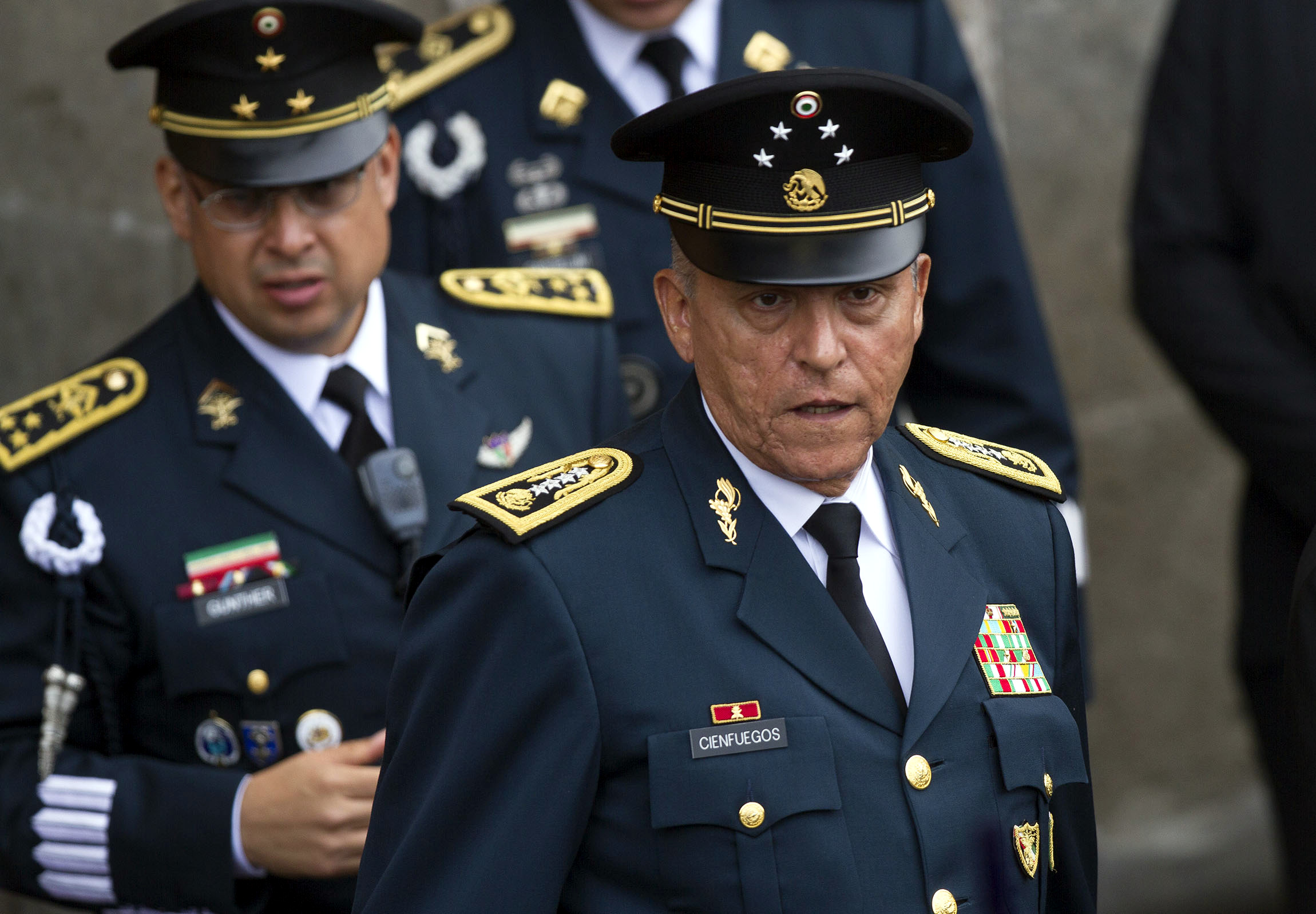 Salvador Cienfuegos, ex secretario de Defensa, es detenido en EEUU