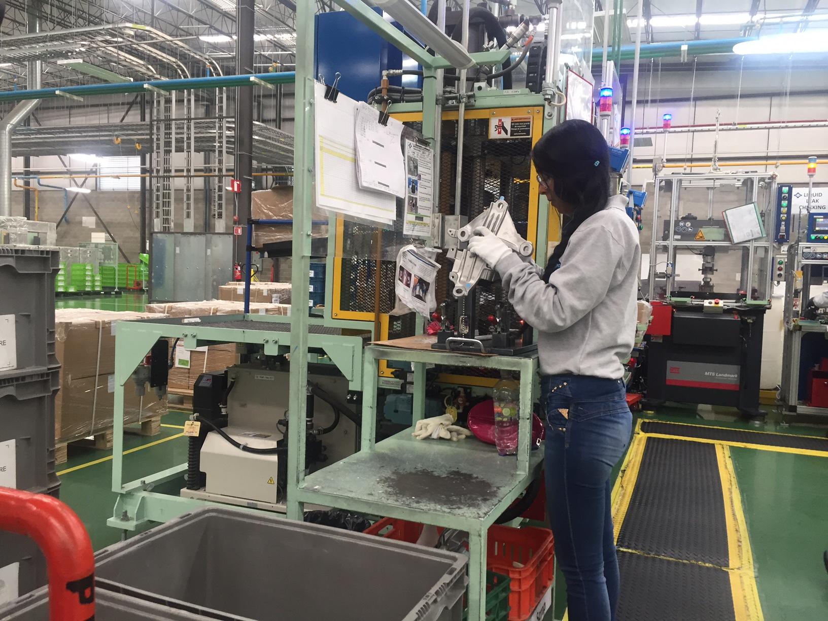 Actividad industrial de Querétaro creció casi 50% en mayo de este año