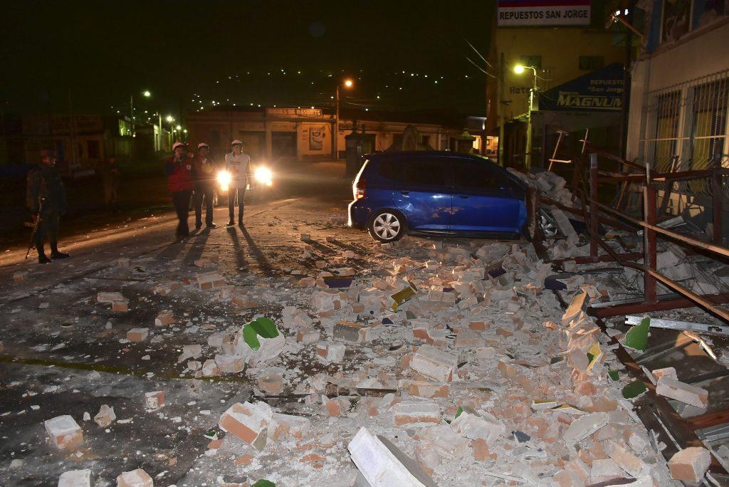 UN TERREMOTO DE MÁS DE 6 GRADOS SACUDE LA FRONTERA ENTRE GUATEMALA Y MÉXICO