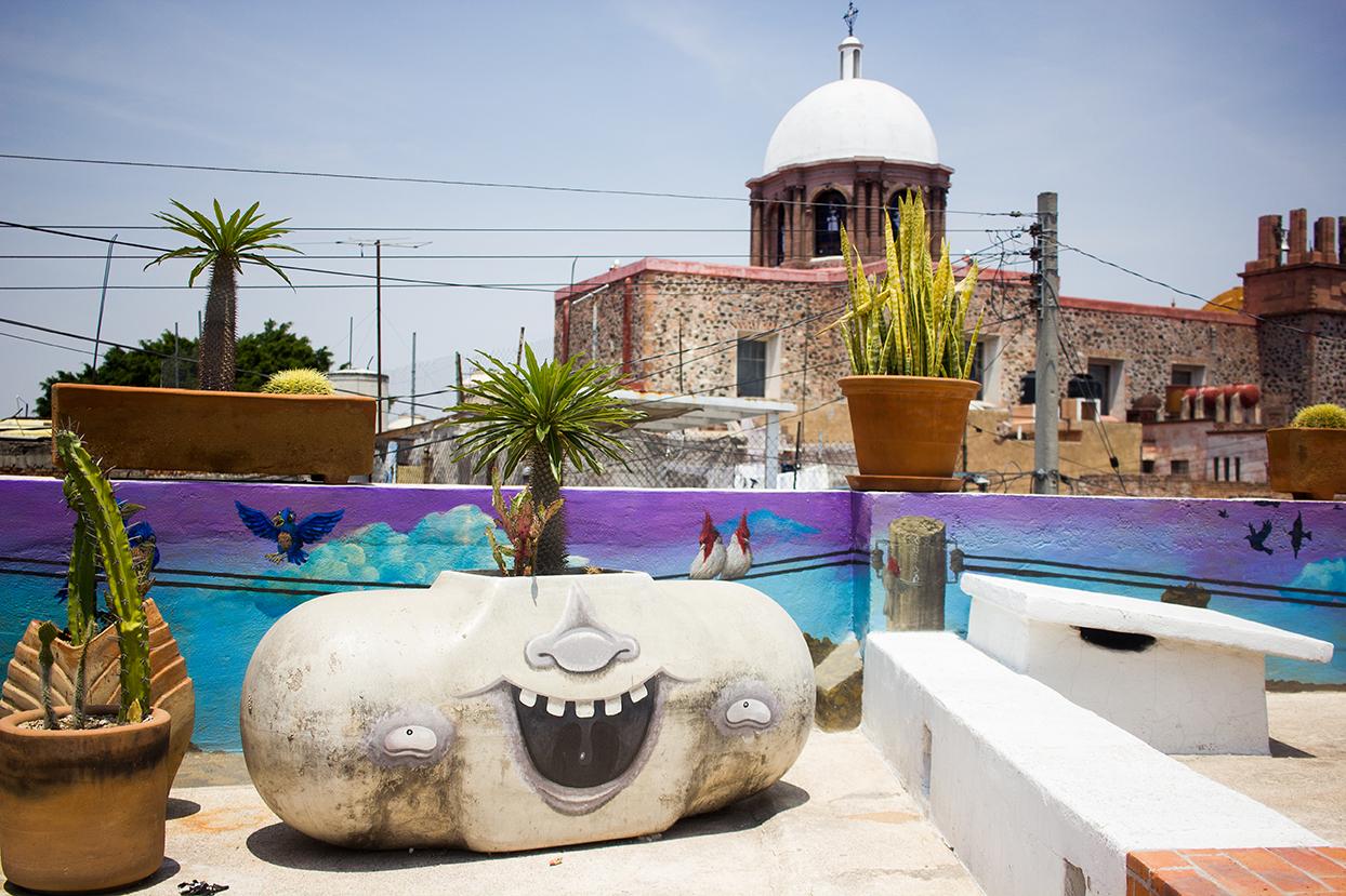 Vivienda + arte en el Centro Histórico de Querétaro
