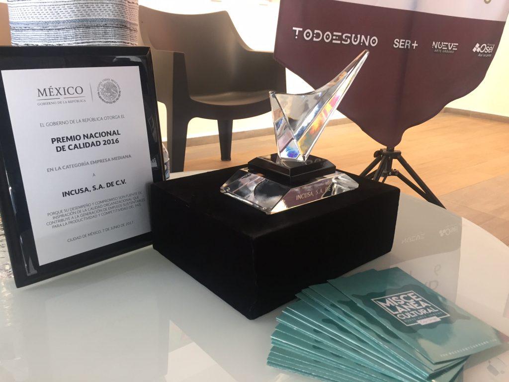 Premio Nacional Incusa