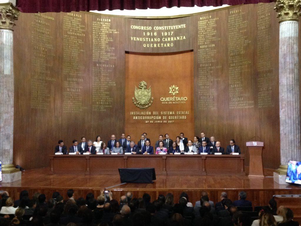 Querétaro instala formalmente Sistema Estatal Anticorrupción