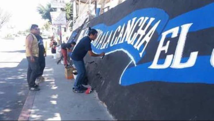 Mural Gallos