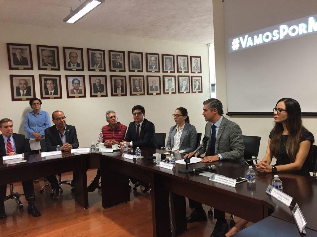 #VamosPorMás, empresarios contra la impunidad y corrupción