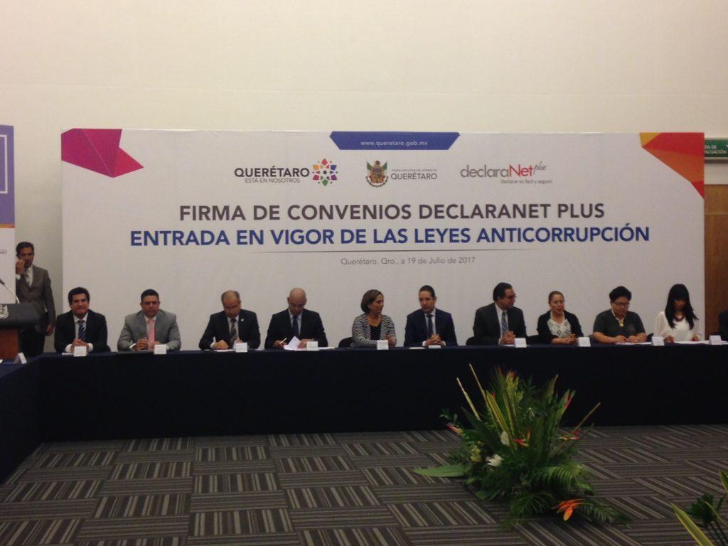 Entran en vigor las Leyes Anticorrupción en Querétaro