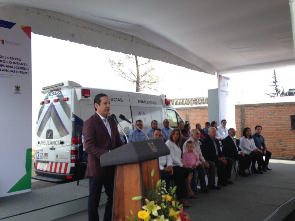 Inaugura Pancho y Narro Robles Centro de Desarrollo Infantil