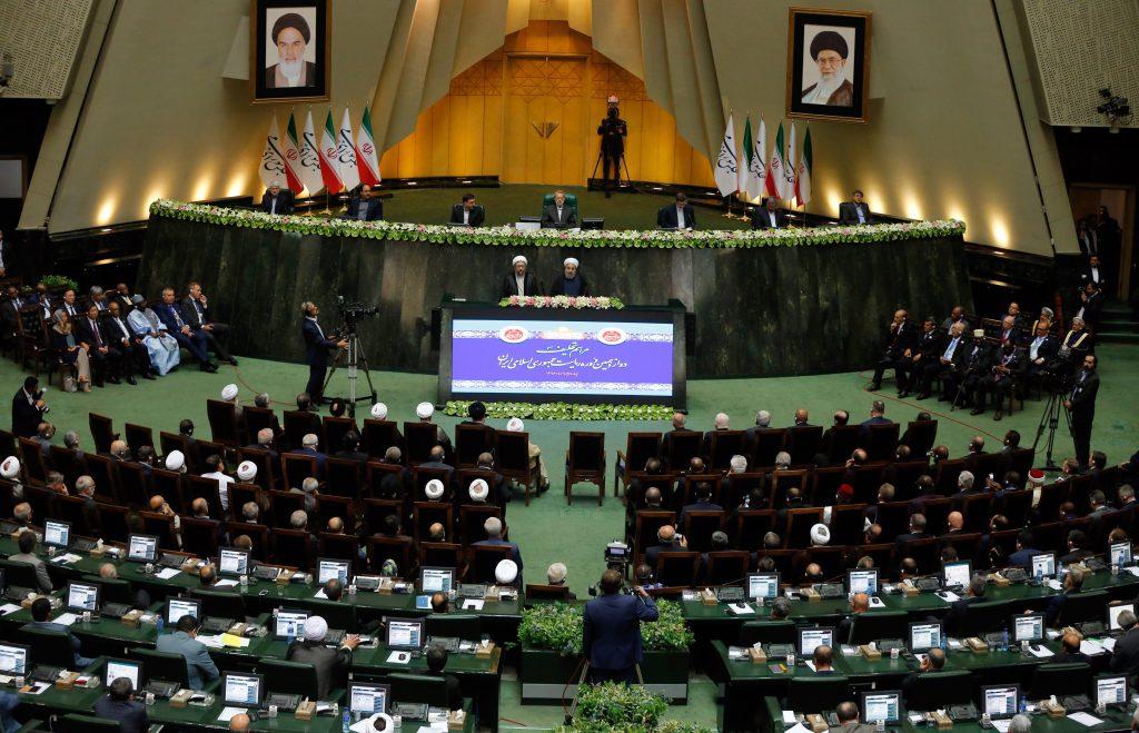 Hassan Rouhani sworn in as Iranian president