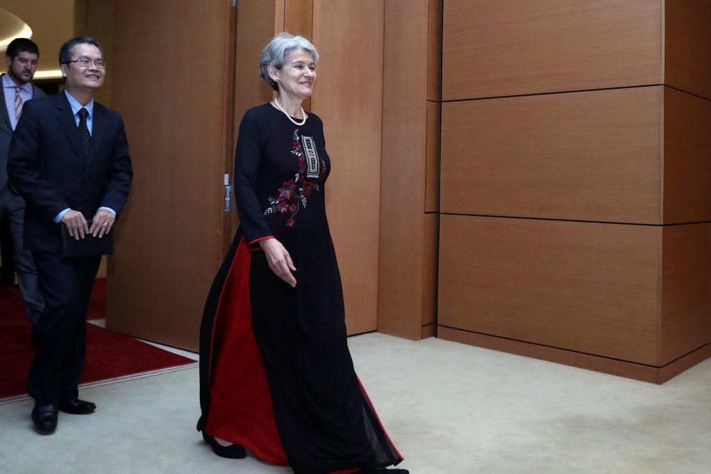 Directora-General UNESCO, Irina Bokova, visita Vietnam
