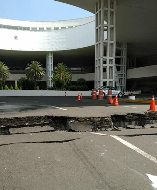 AICM terremoto