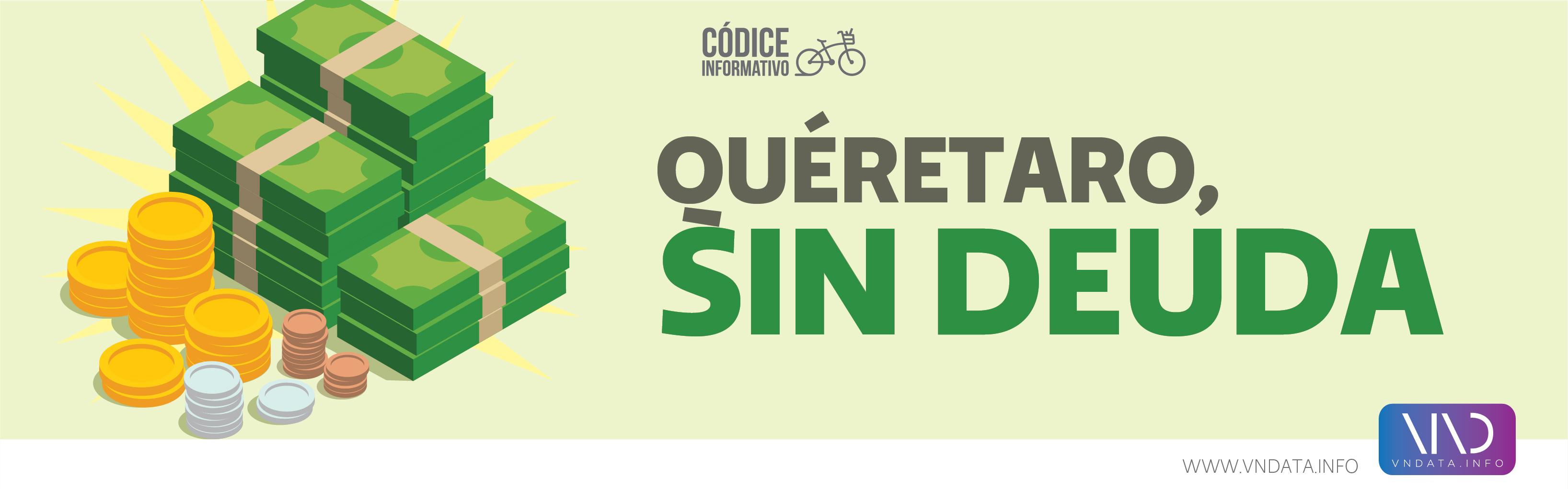 Querétaro, sin deuda