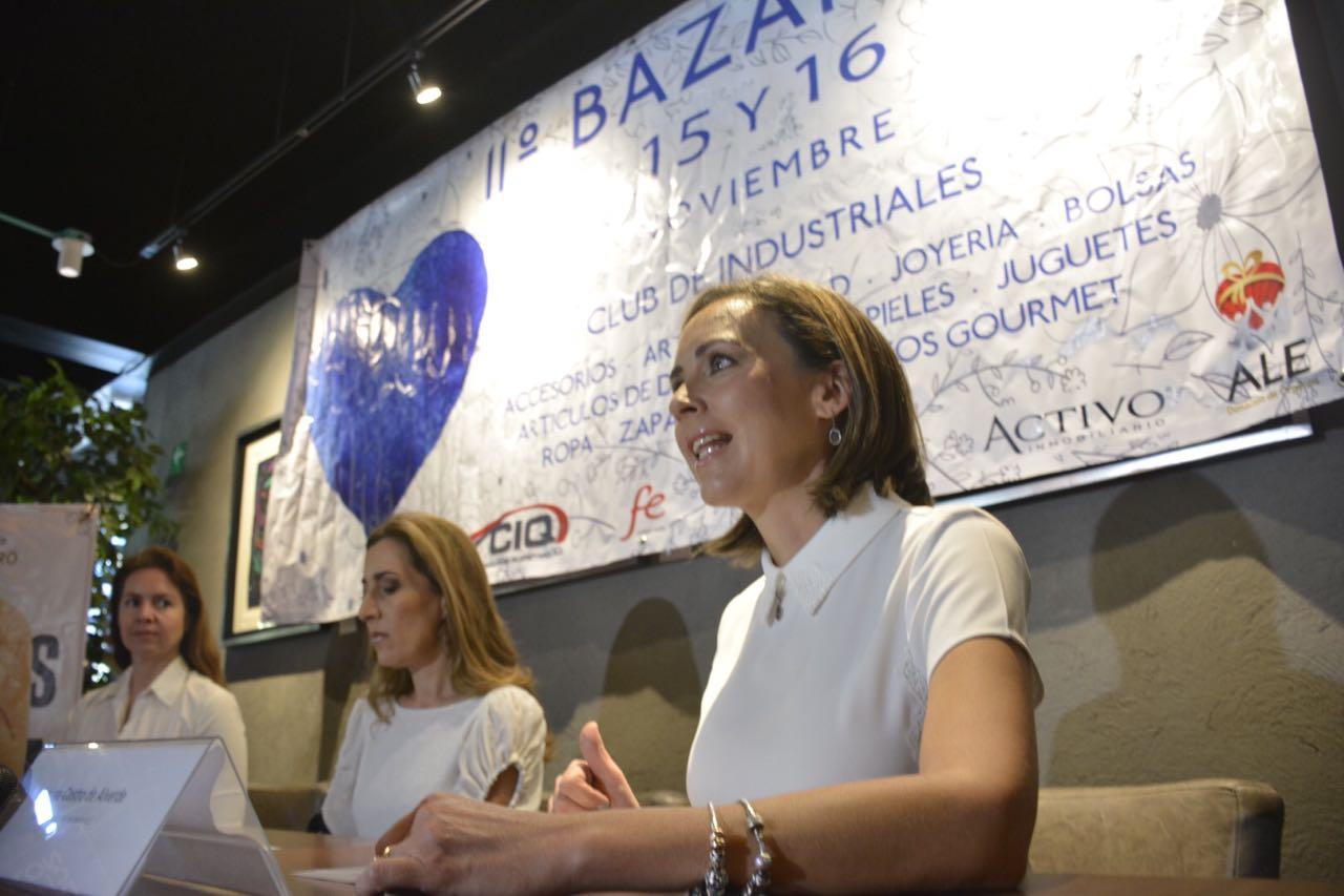 Convoca Fundación ALE a los queretanos a visitar la 11° edición del Bazar Navideño