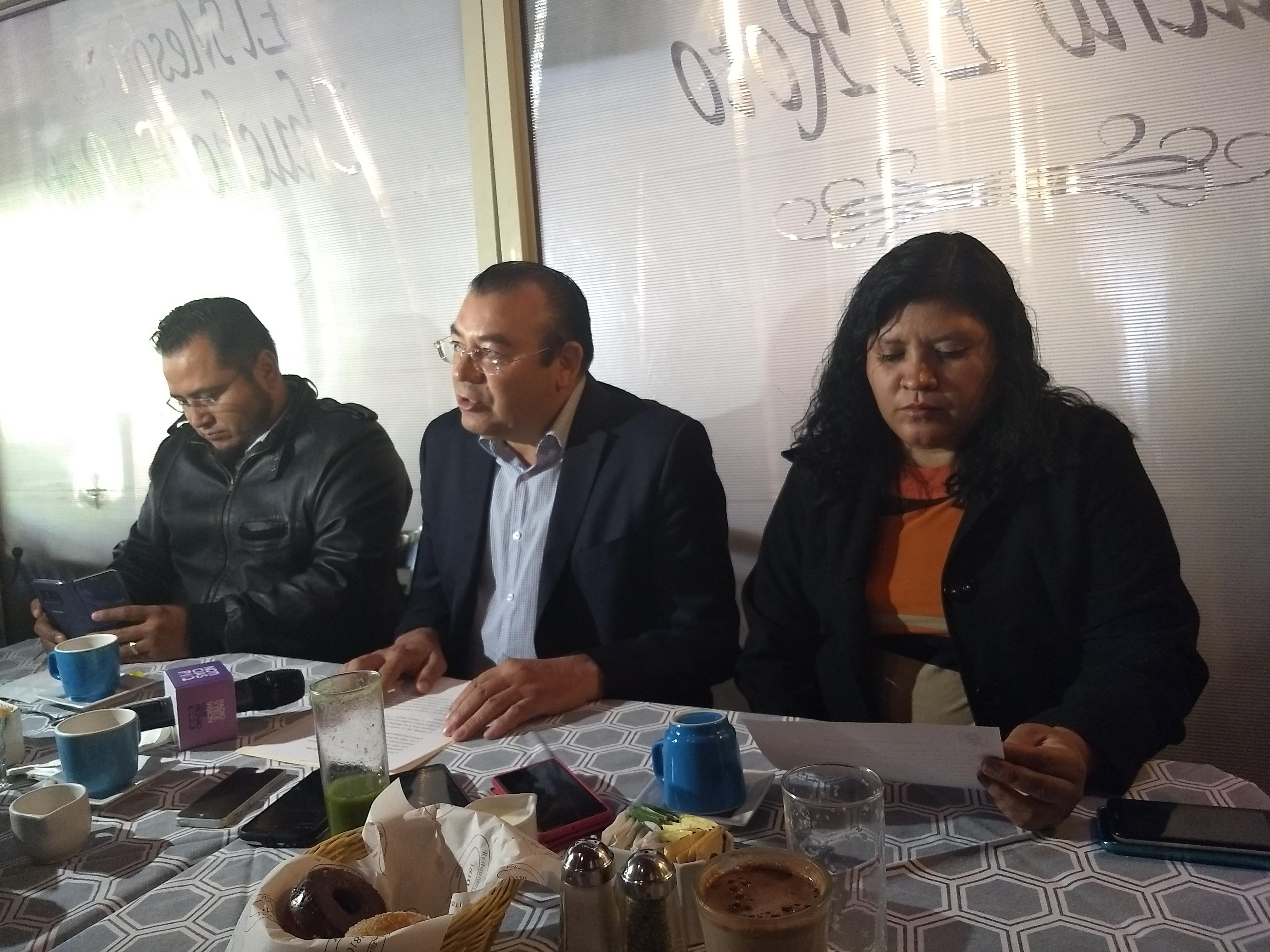 PRD pide no incrementar impuestos en municipios