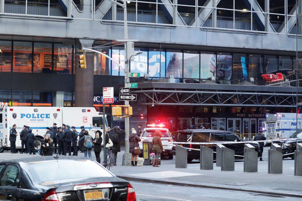 El posible autor de la explosión, único herido en Nueva York