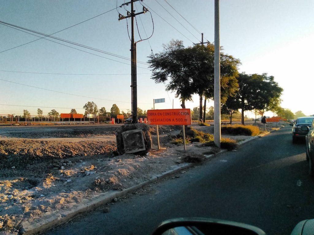 Paseo de Santiago abandonado