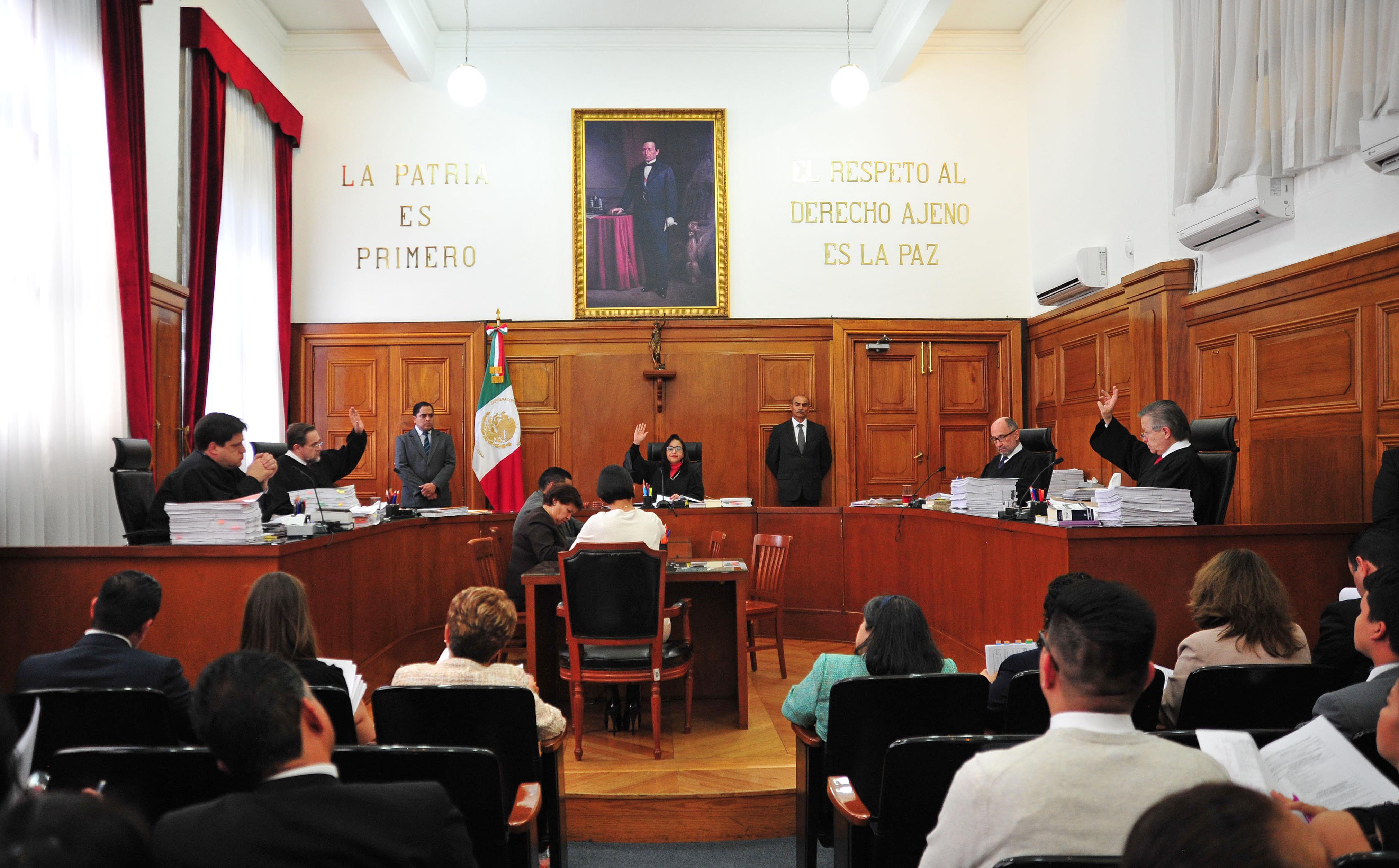 Corte mexicana admite recurso de inconstitucionalidad contra ley de seguridad