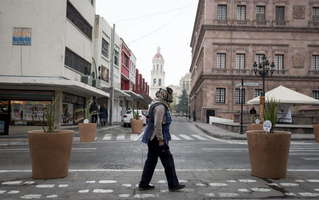 Un masa de aire polar causa ambiente gélido en el norte y centro de México