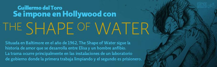 Guillermo del Toro se impone en Hollywood con the shape of water