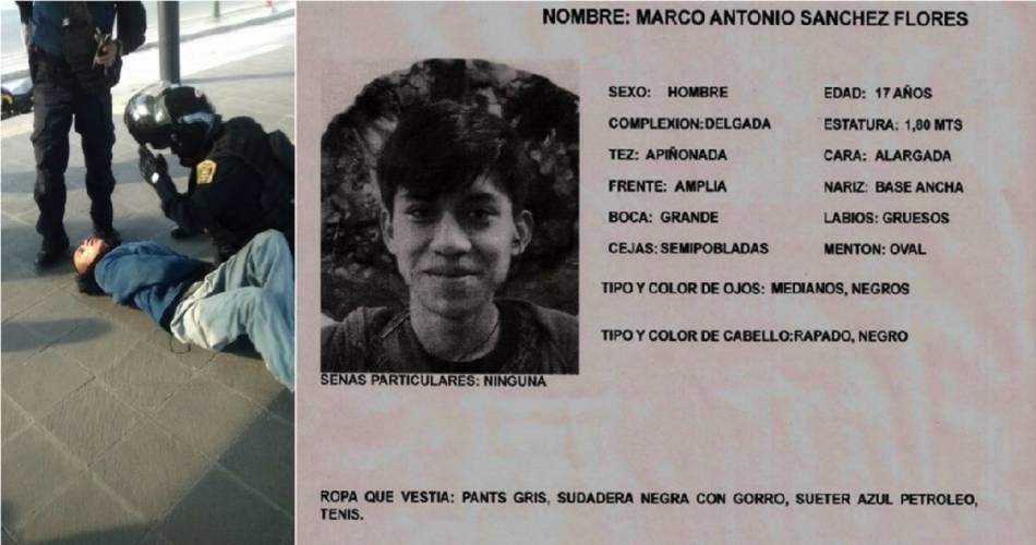 Estudiante permanece desaparecido tras ser golpeado y detenido por policías en la CDMX