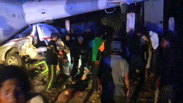 Aumenta a 13 cifra de muertos por desplome de helicóptero en Oaxaca