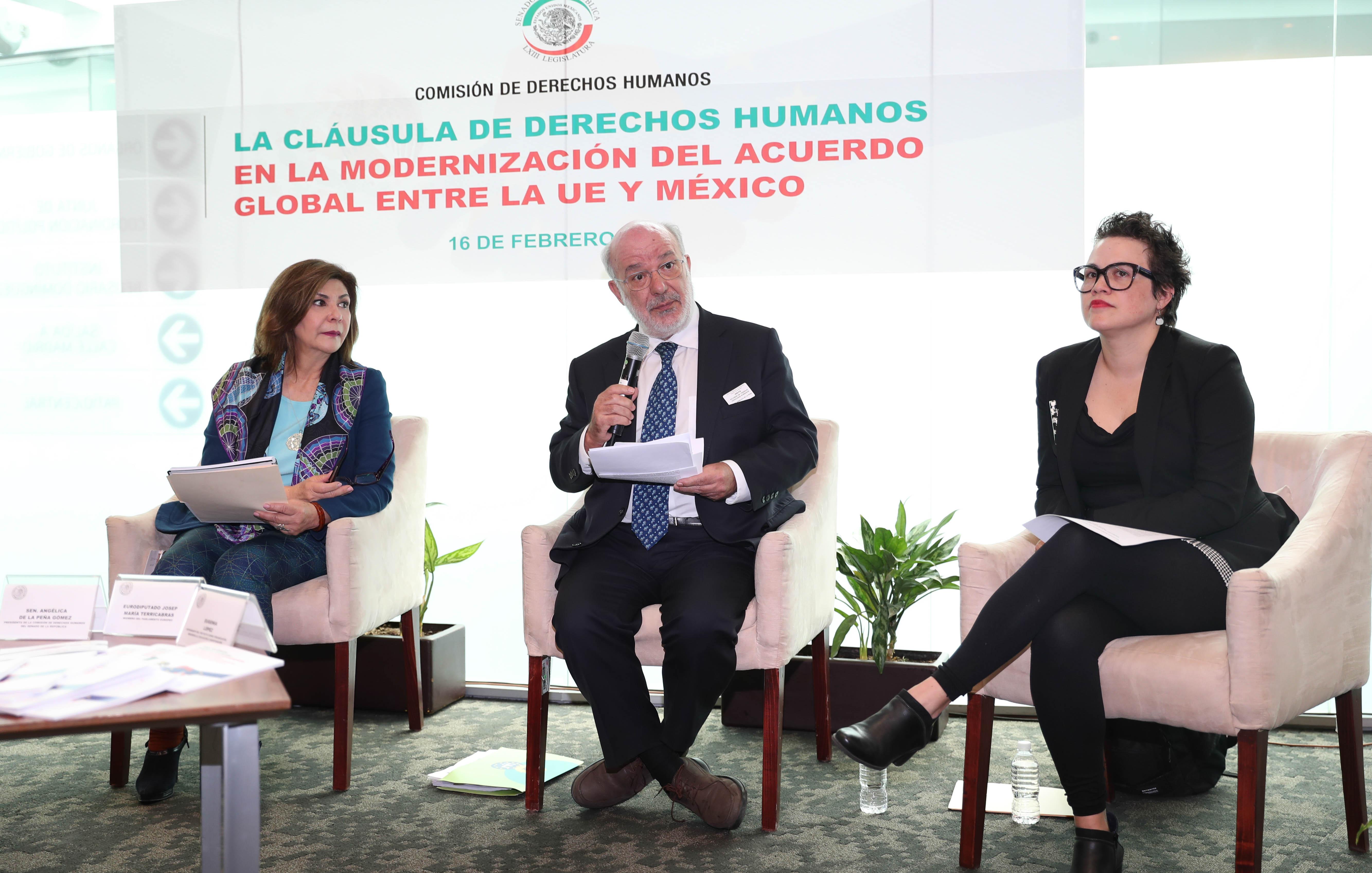 Recomiendan convertir la Cláusula de Derechos Humanos entre la UE y México en instrumento de supervisión y cooperación