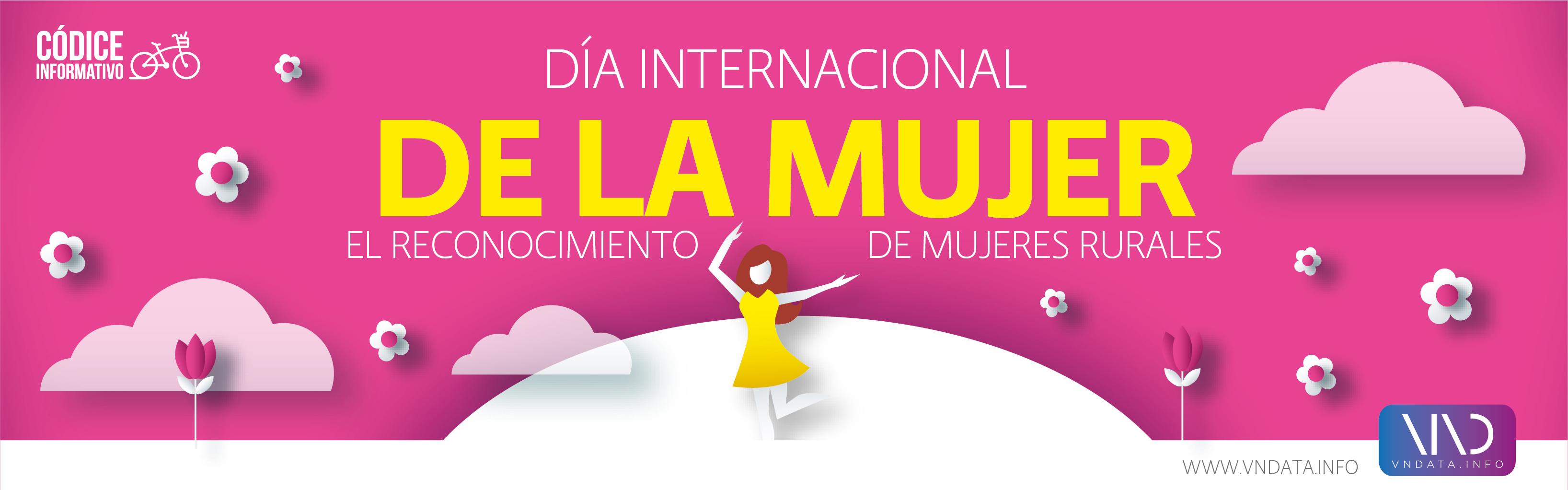 DA�a internacional de la mujer: El reconocimiento de mujeres rurales