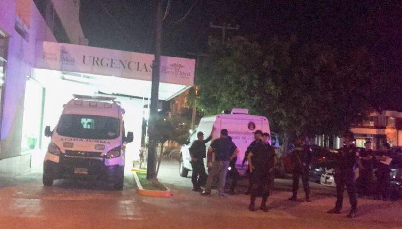 Asesinan en hospital a dos personas en Cancún
