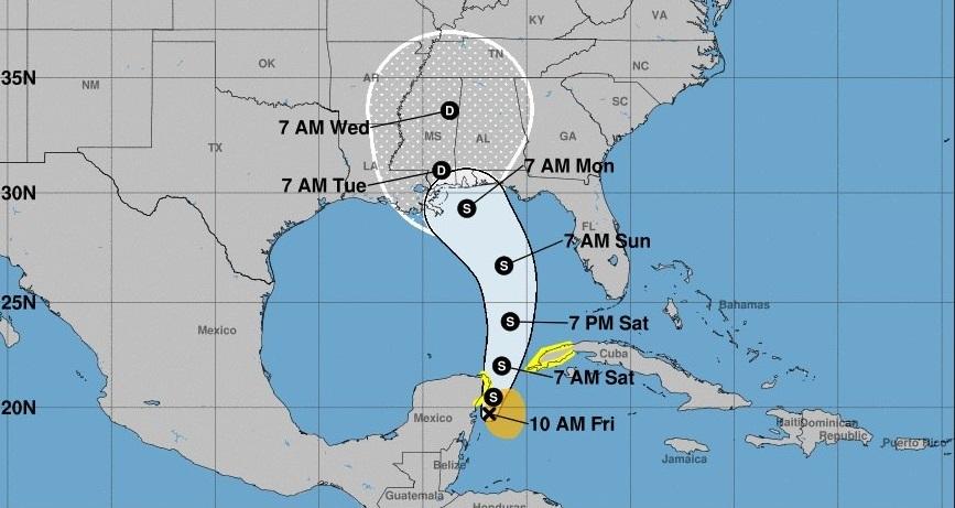Se forma la primera tormenta de la temporada de huracanes en el Atlántico