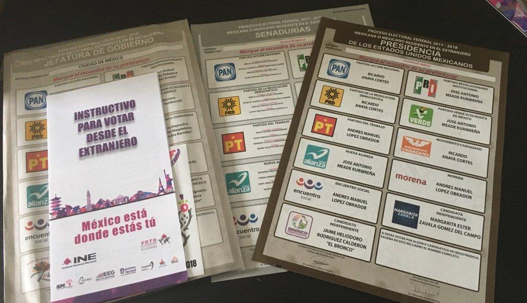 Van 188 queretanos radicados en el extranjero que se registran para votar en 2021