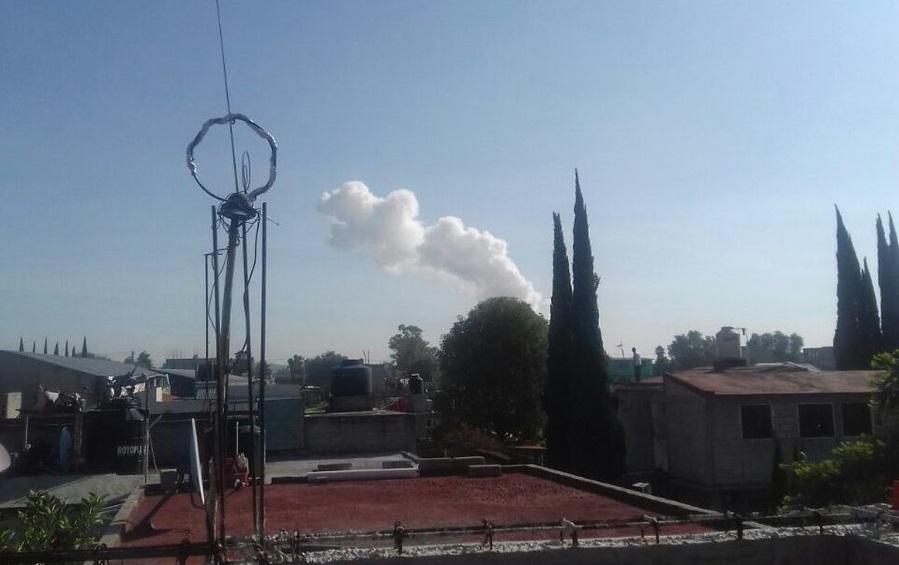 Registra Tultepec explosión en zona donde se trabaja con pirotecnia