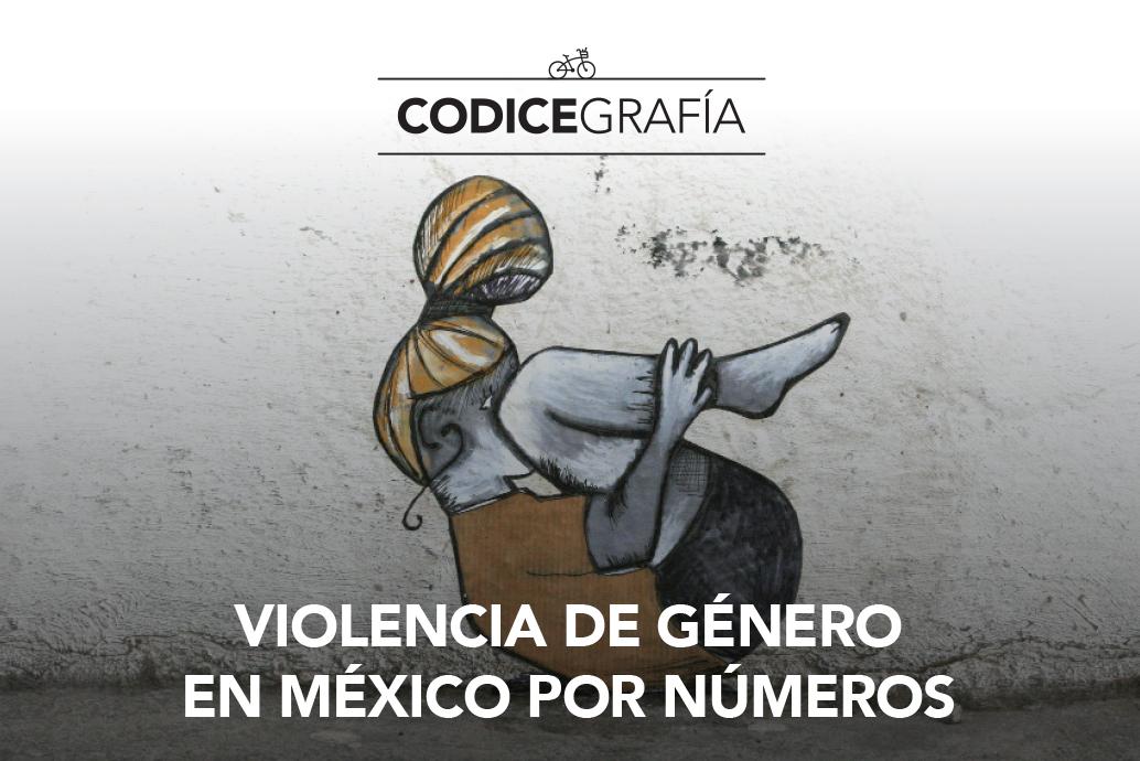Violencia de género en México por números