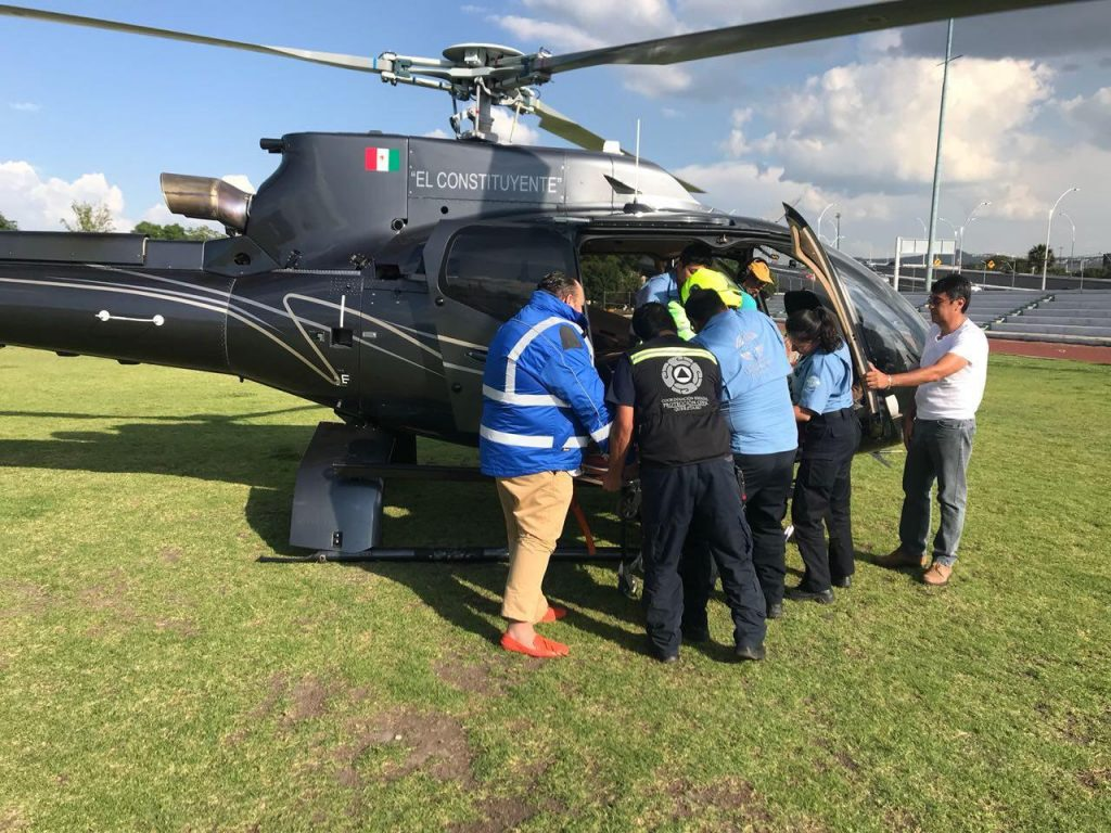 Helicóptero Ambulancia Aeres