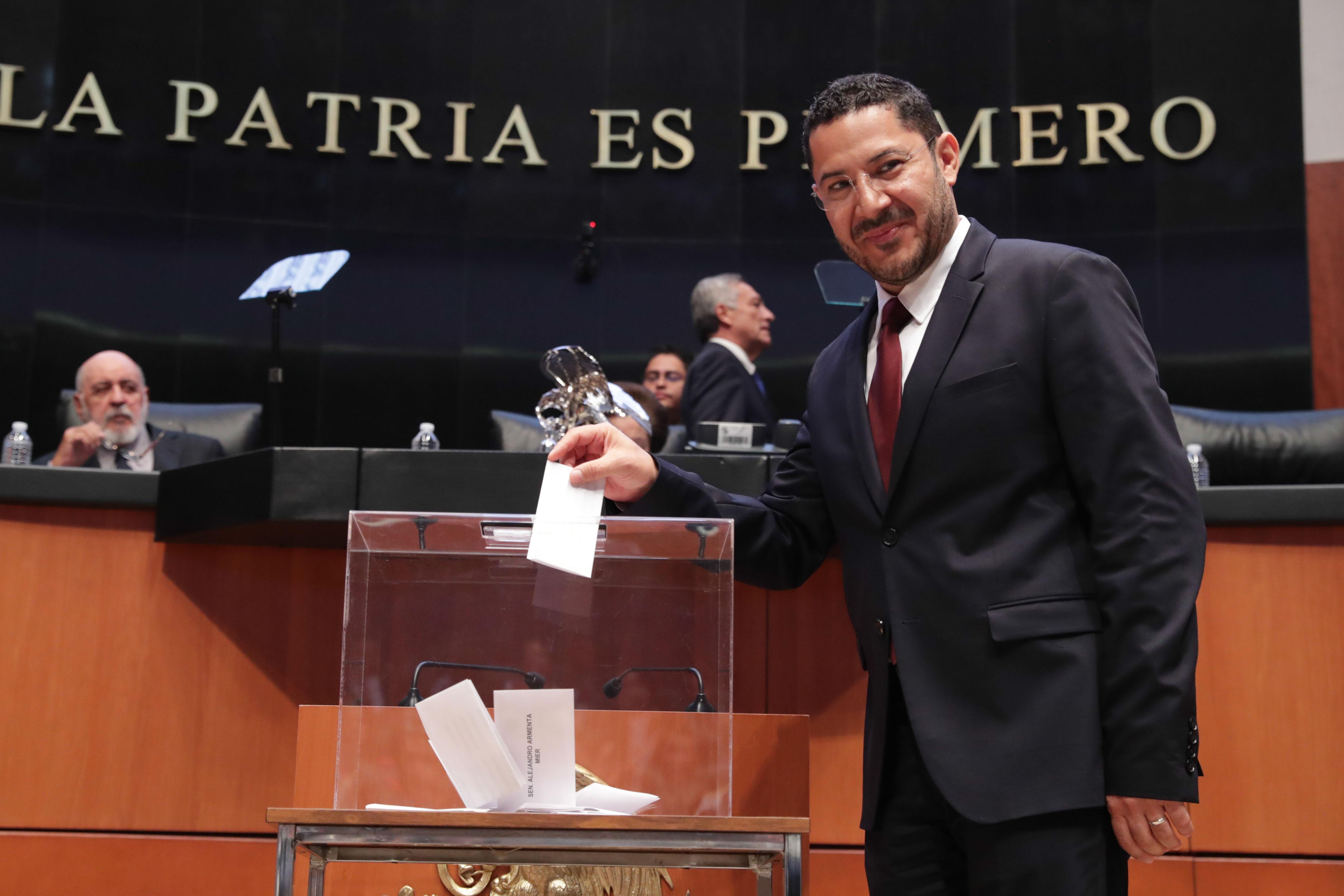 Poder Legislativo será protagonista del cambio político de México: Martí Batres