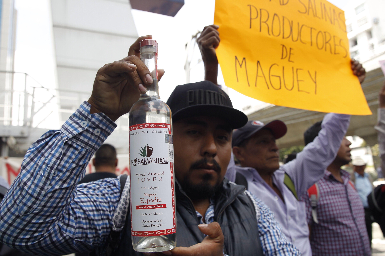Denominación de origen del mezcal pone en pie de lucha a Oaxaca