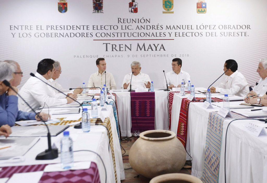 Si es necesario, habrá inversión extranjera en Tren Maya, dice López Obrador