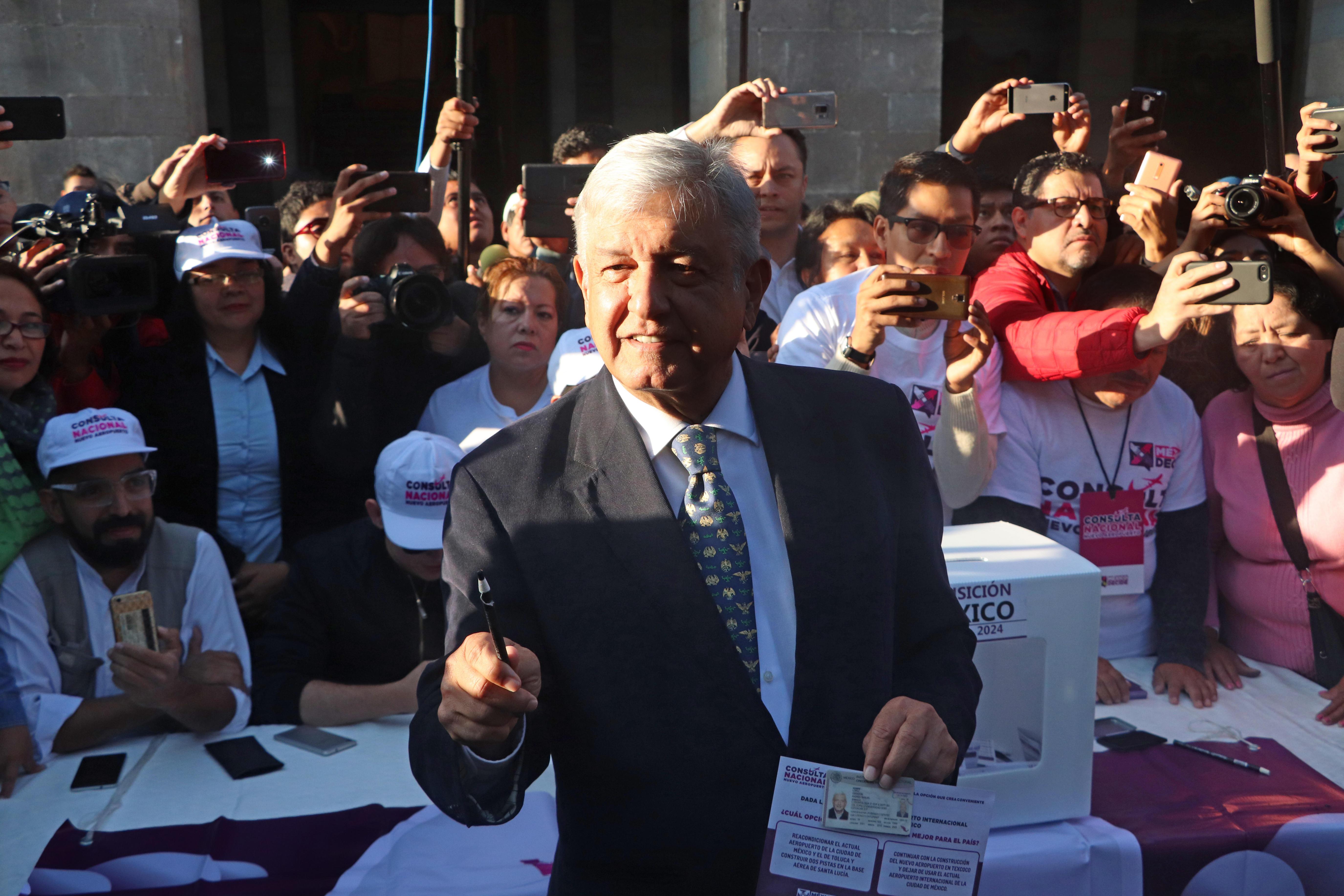 Interés ciudadano y lagunas logísticas en votación sobre aeropuerto mexicano
