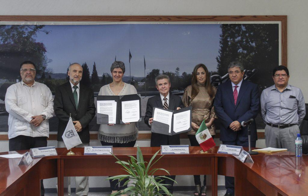 Firma de convenio UNAM-UAQ_TS_17