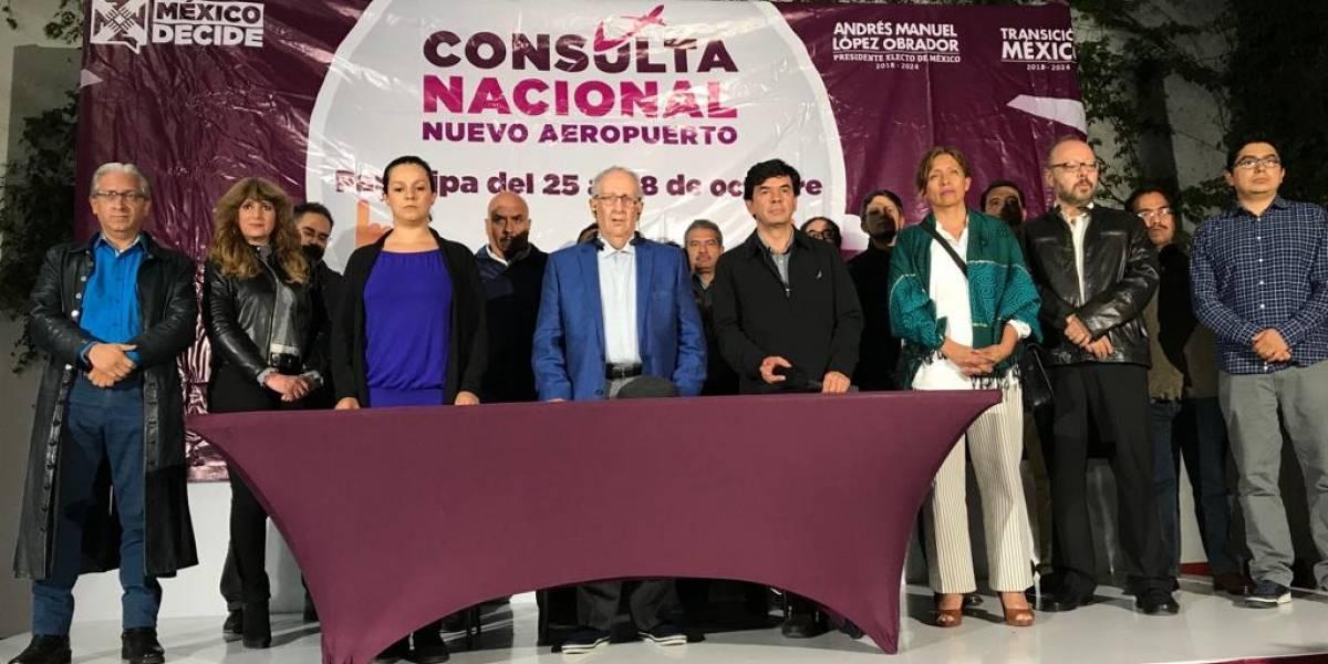 Gana Santa Lucía en la consulta nacional sobre el NAIM