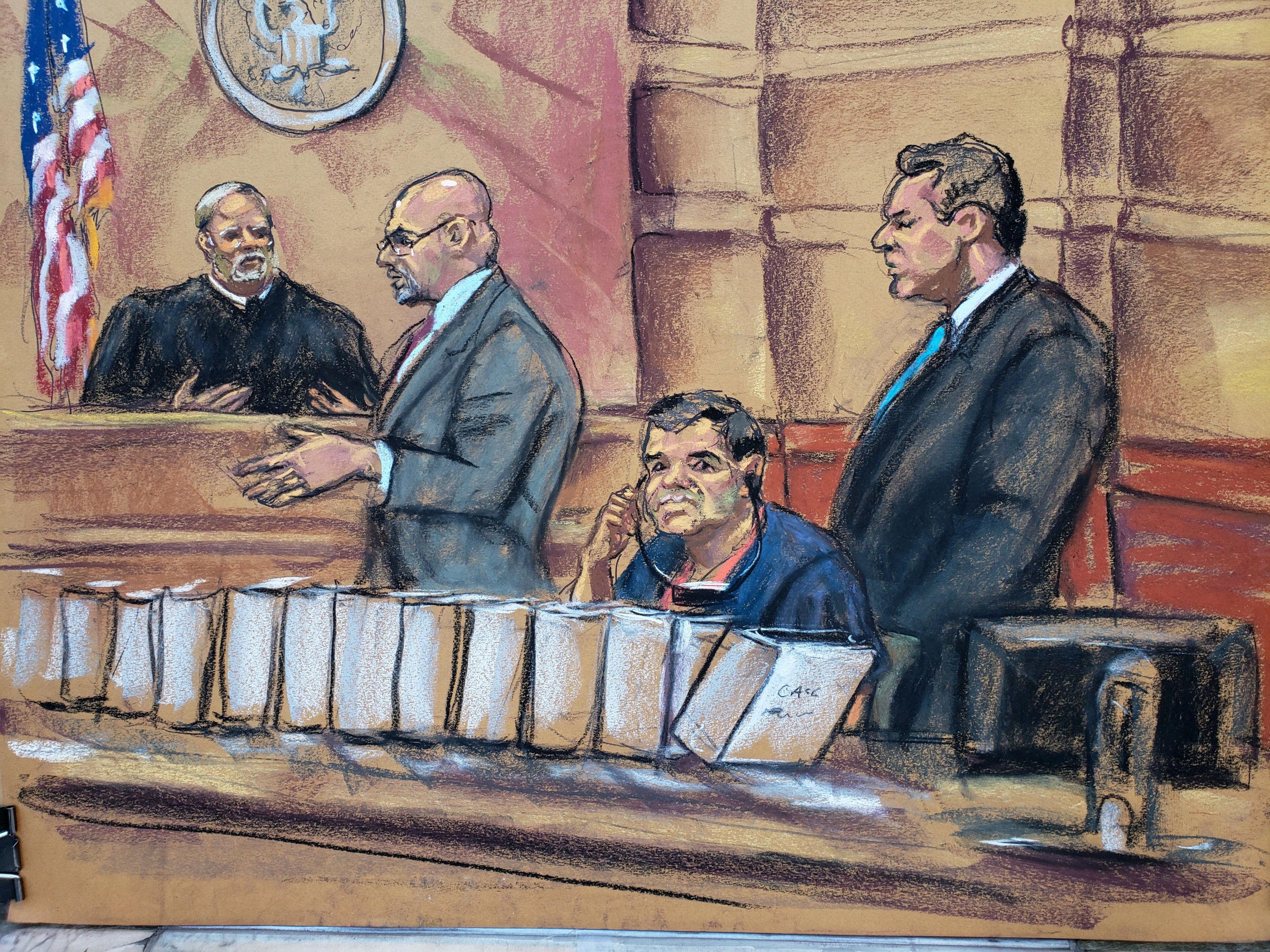 Chapo se prepara para juicio que puede costarle cadena perpetua