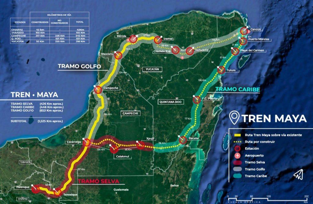 Tren Maya se convierte en proyecto más ambicioso del sureste de México