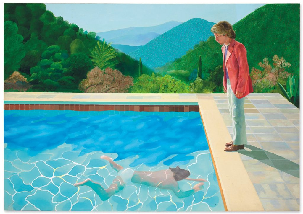 Obra de Hockney supera los 90 millones en subasta Christie's y bate récords