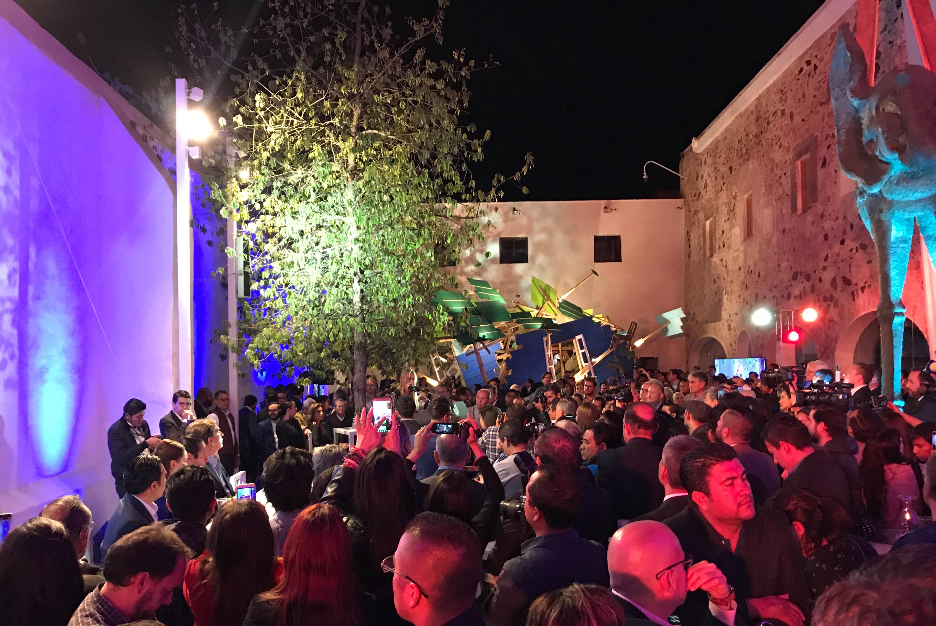 Museo de Arte Contemporáneo de Querétaro abre con asistencia multitudinaria