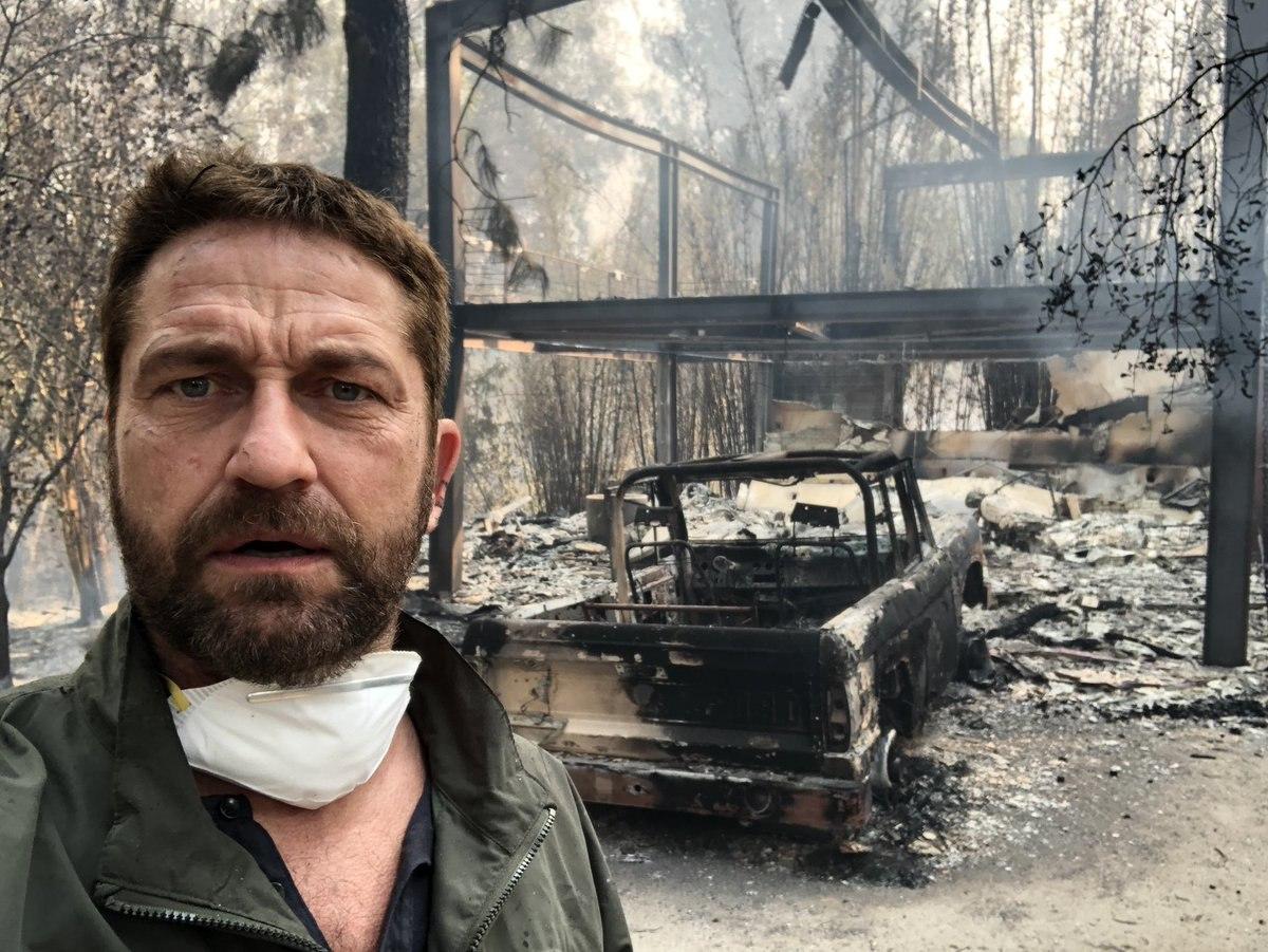 Toca a estrellas de Hollywood devastación por incendio