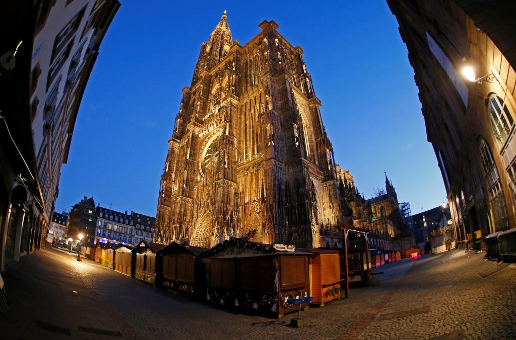 Continúa la búsqueda del autor del ataque en Estrasburgo