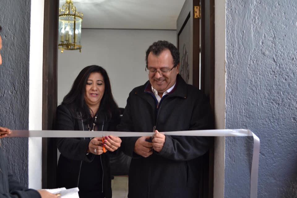 La diputada federal Beatriz Robles inaugura su casa de enlace en Querétaro