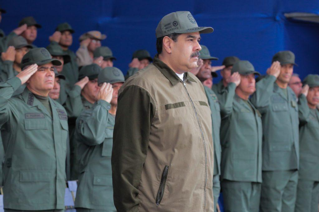 Maduro ordena redoblar la vigilancia en la frontera con Colombia por delitos