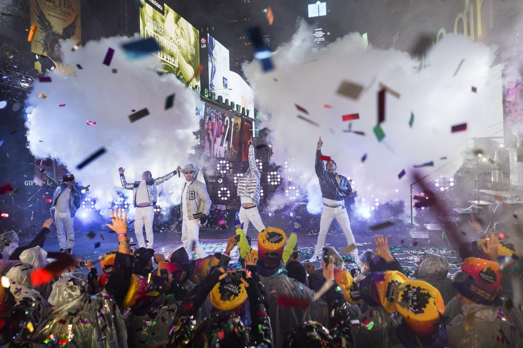 New Year's Eve Celebration in New York's Times Square