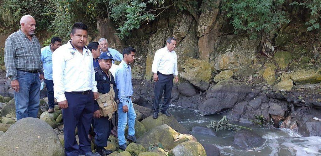 Reportan que un río se está secando en el estado mexicano de Veracruz