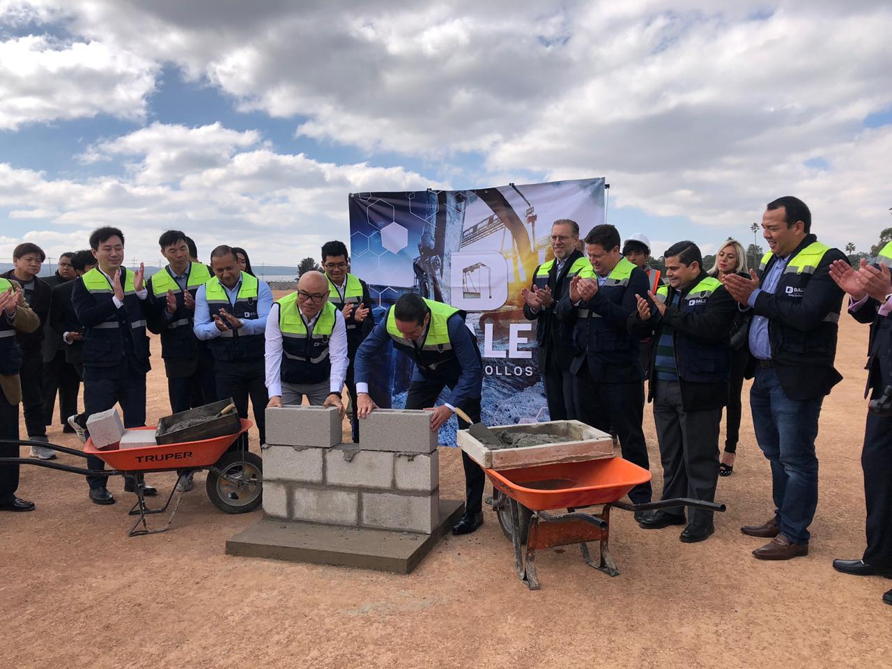 Colocan primera piedra de nueva empresa china en Colón